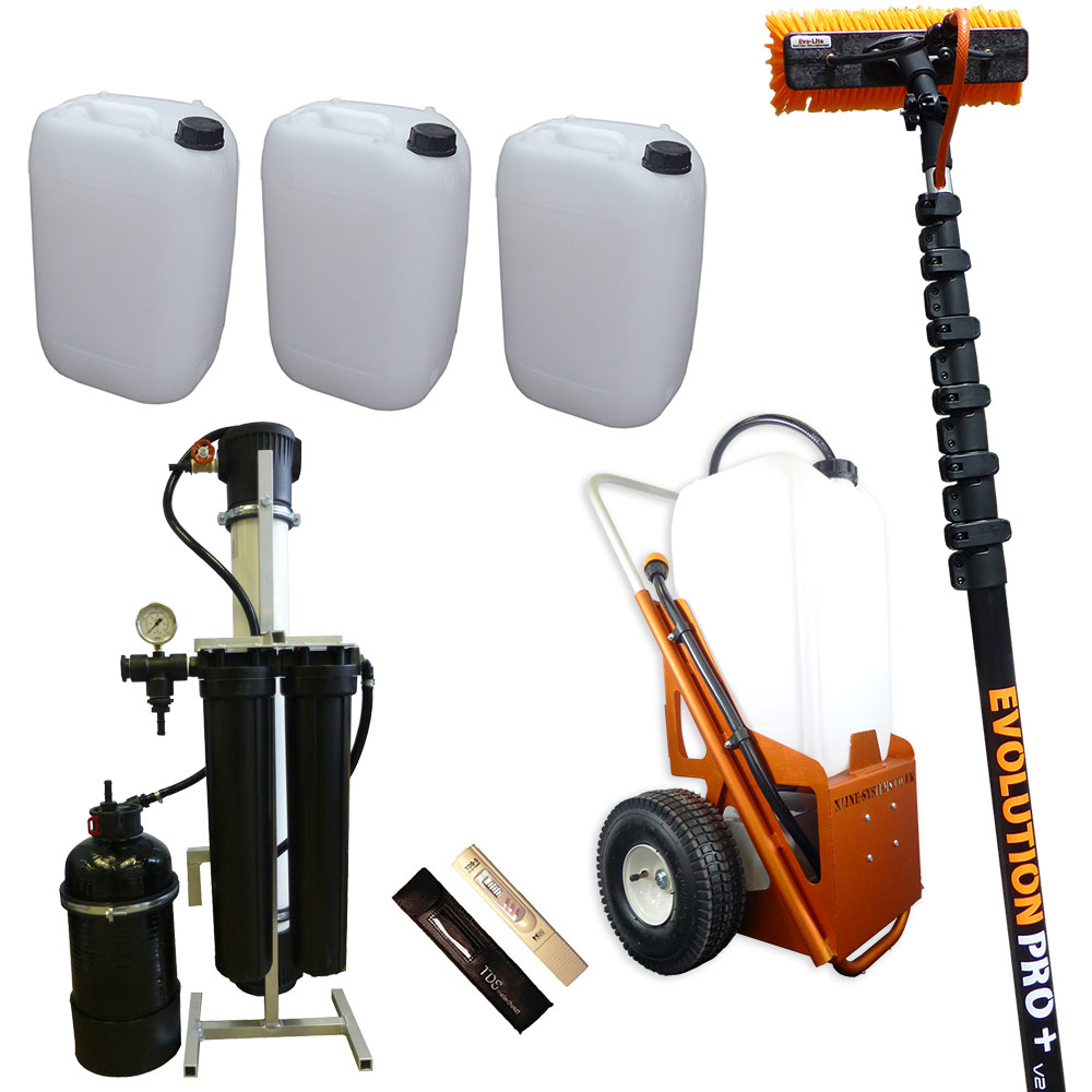 Advanced 25ltr Window Cleaning Trolley System