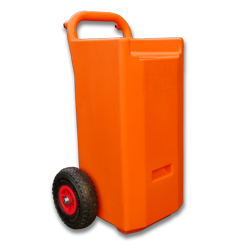 water fed window cleaning portable plastic 45ltr trolley