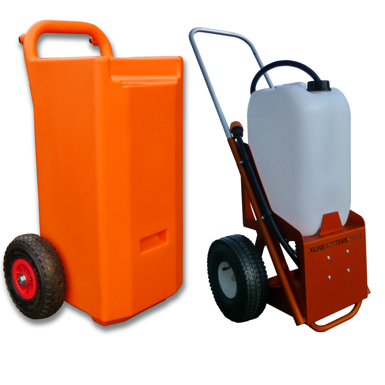 Water Fed Portable Trolley 25ltr & 45ltr