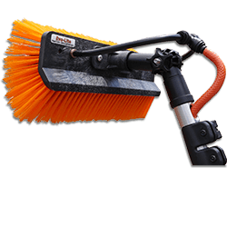 water fed window cleaning brush
