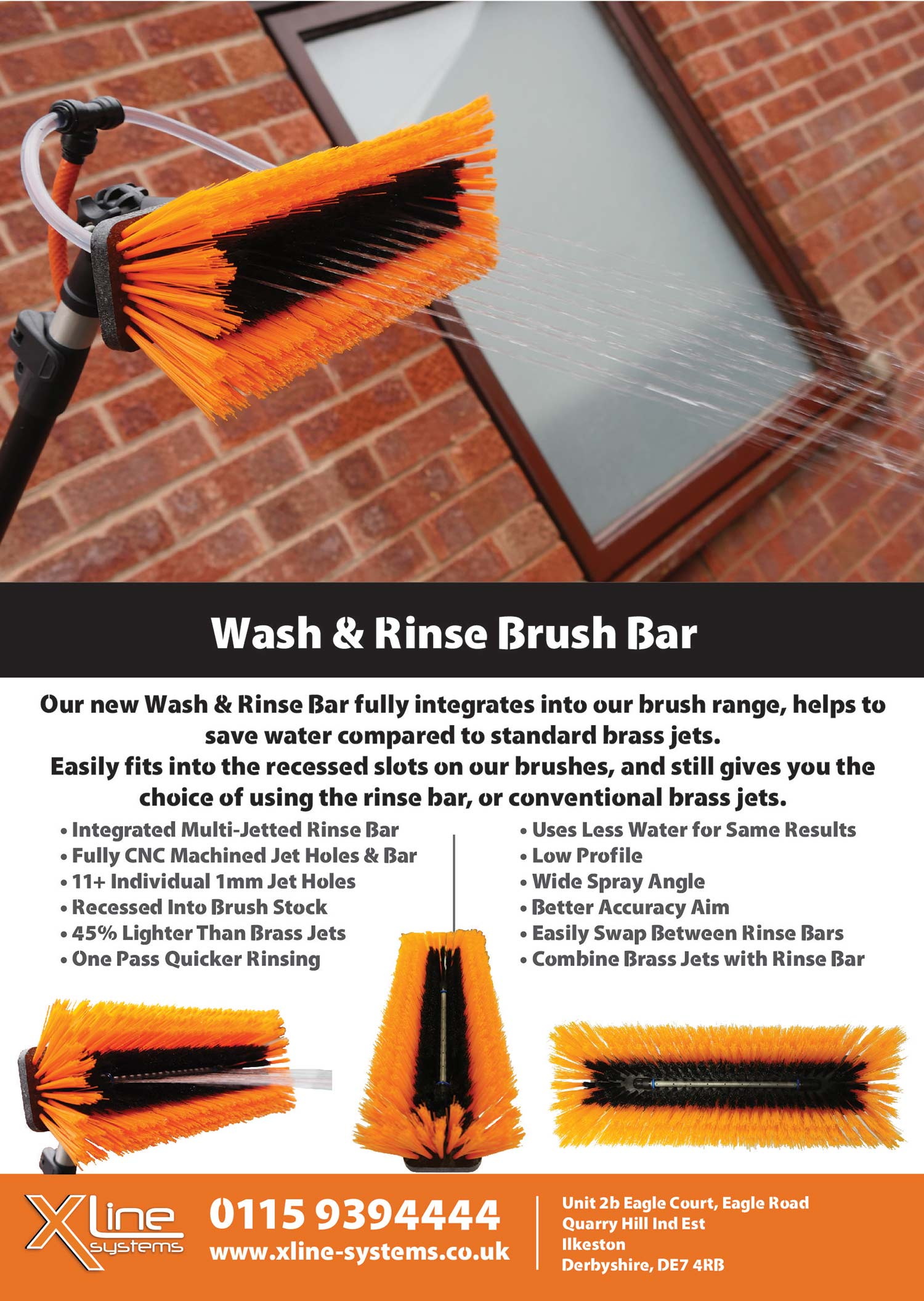 Wash and Rinse Bar Flyer