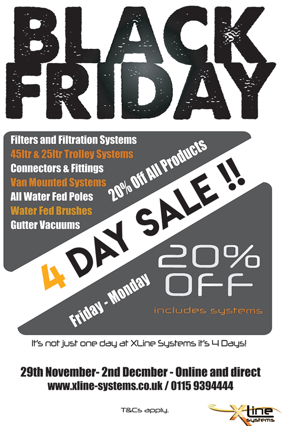 black friday 2019 xline systems1