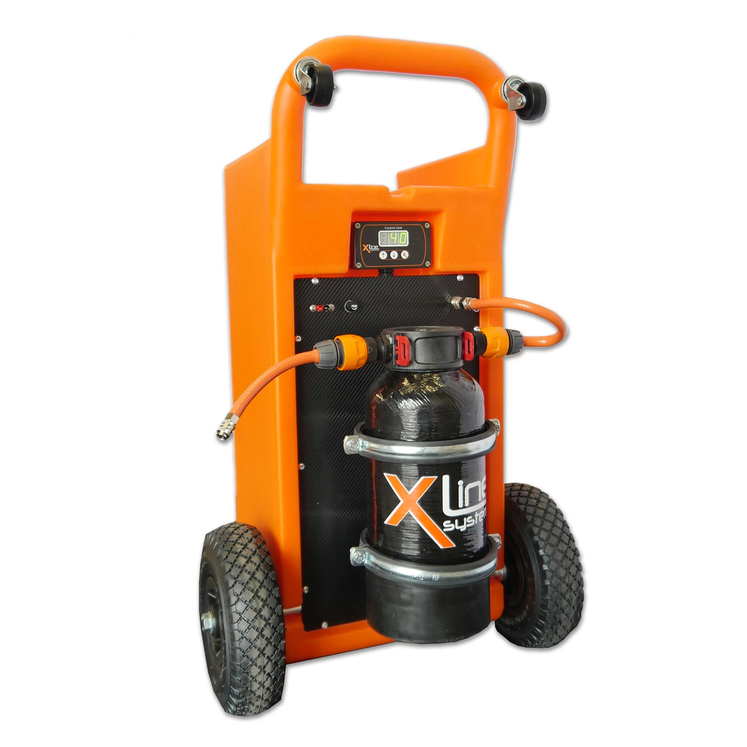 45ltr Portable Trolley with 4ltr D/I Resin Vessel