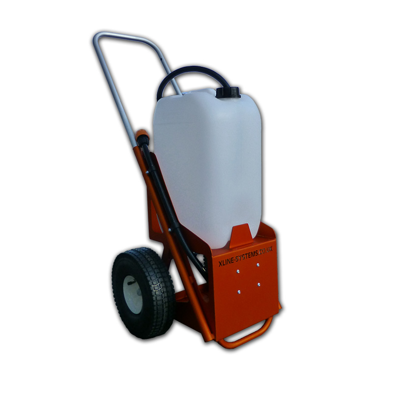 Window Cleaning Pole System: 25ltr Water Fed Trolley System For Mobile Window Cleaning