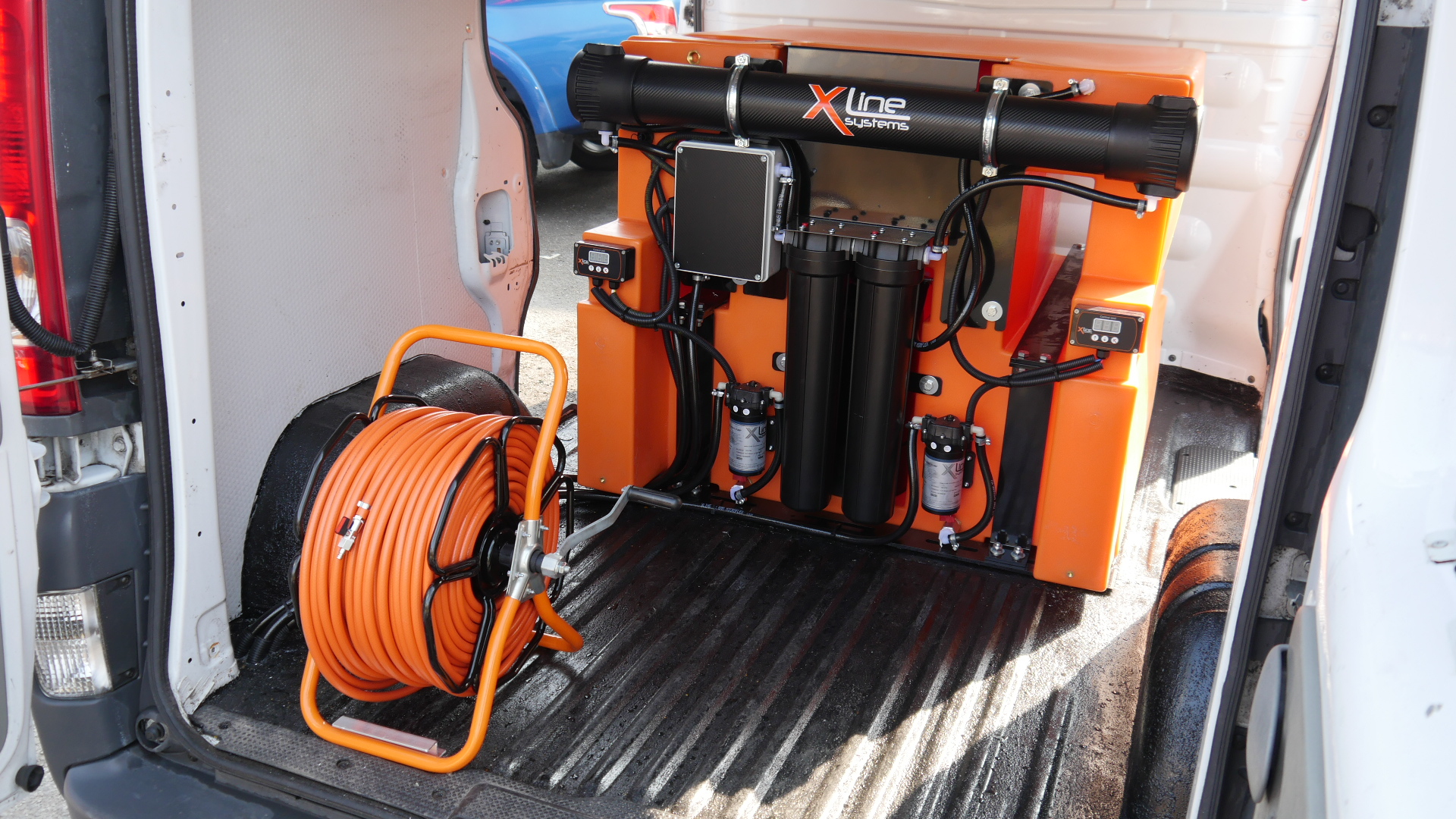 500ltr Water Fed Pole Window Cleaning System