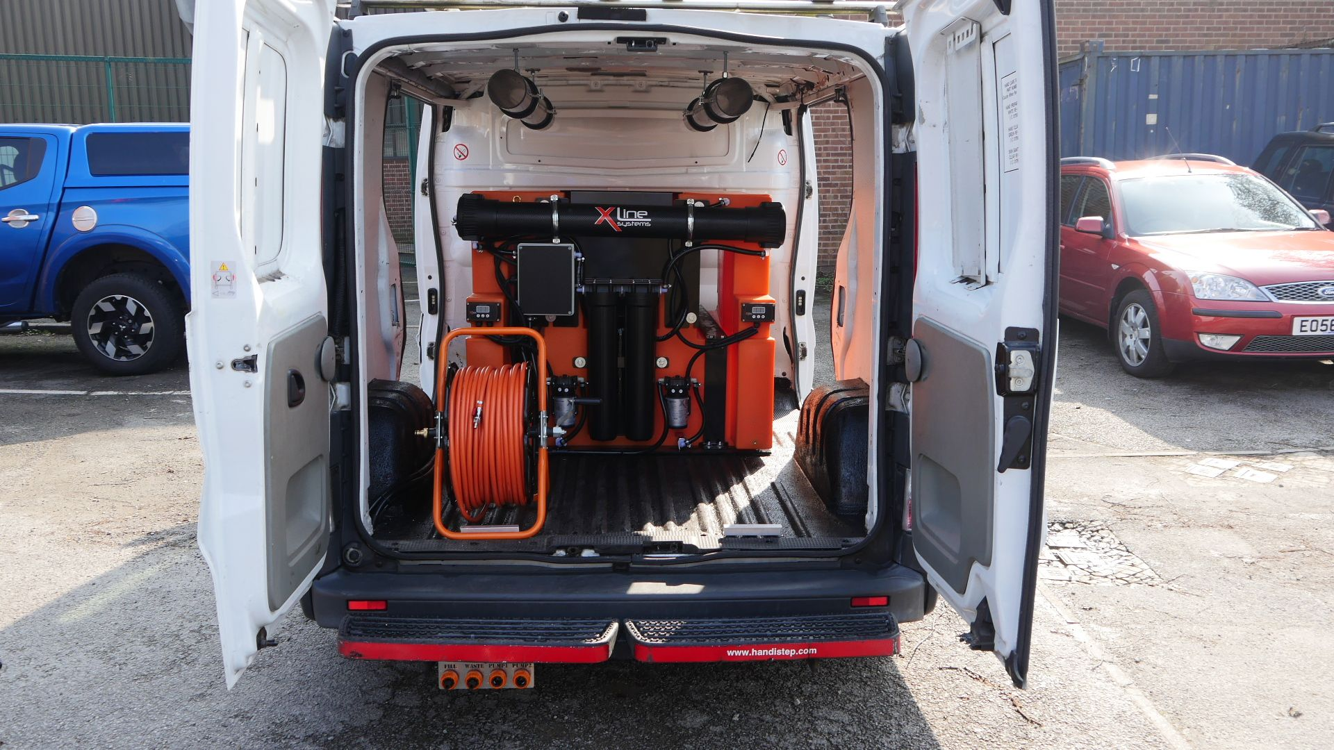 750ltr 2 Man Window Cleaning System