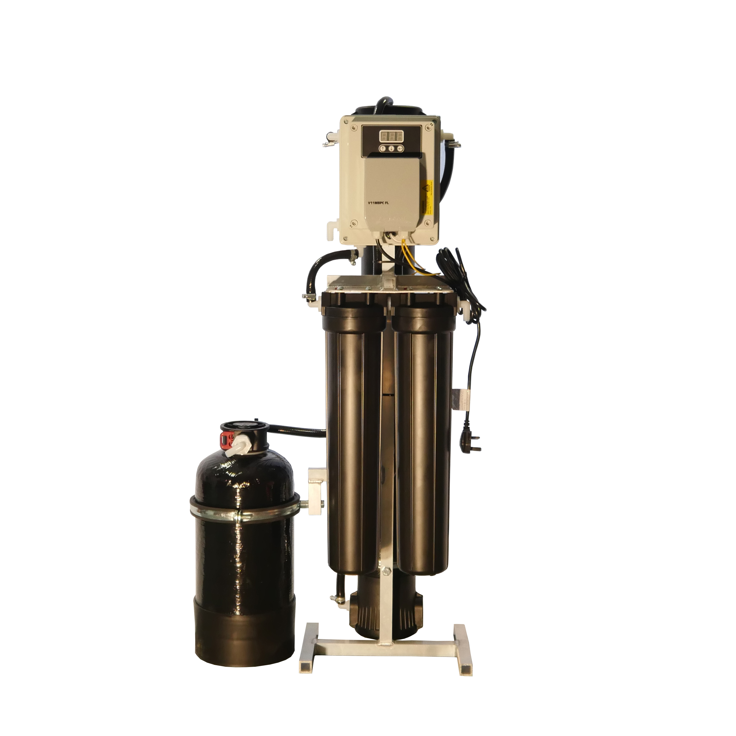 RO filtration system - pure water unit - static autoflush