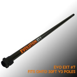lightweight carbon water fed pole extension