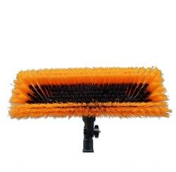 "11"" window cleaning brush - lightweight dual trim"