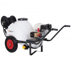 WBU8150P 120 litre Wheelbarrow Tank + 150 Bar Pressure Washer