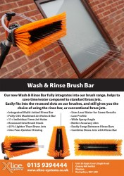 "10"" window cleaning sill brush"
