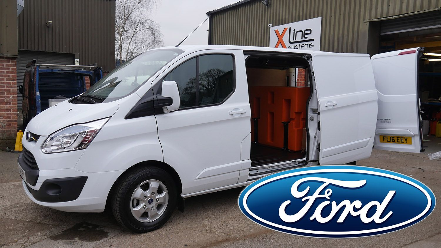 Ford - Window Cleaning Van Systems