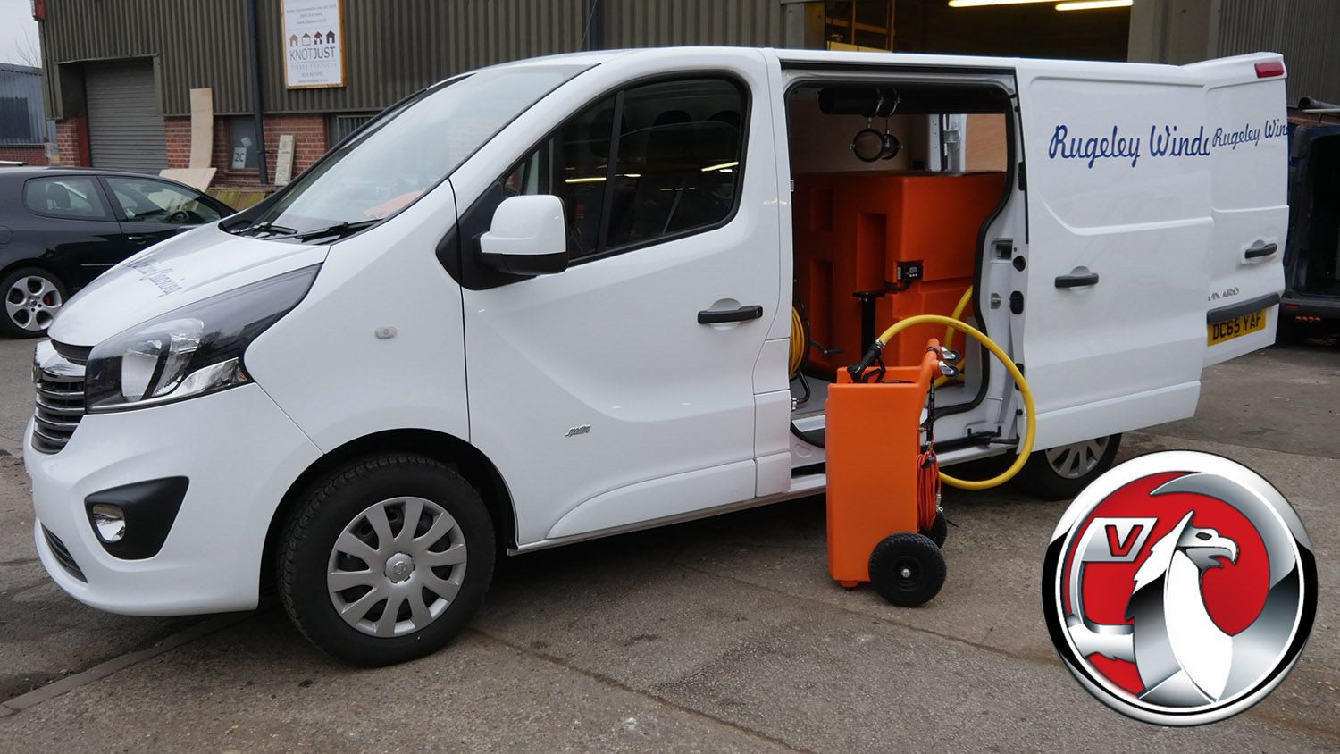 Vauxhall - Window Cleaning Van Systems