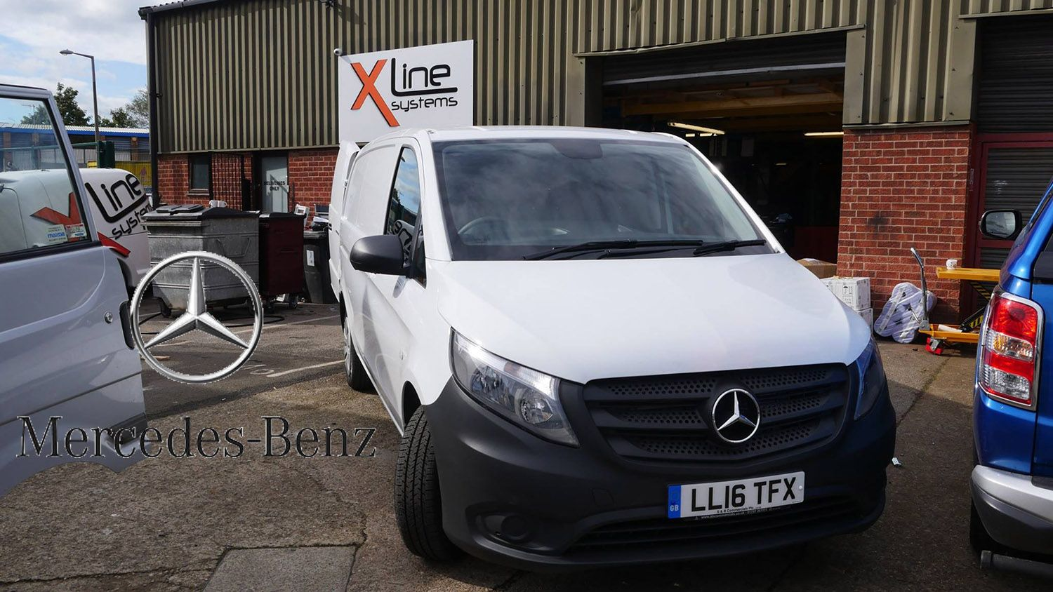 Mercedes - Window Cleaning Van Systems