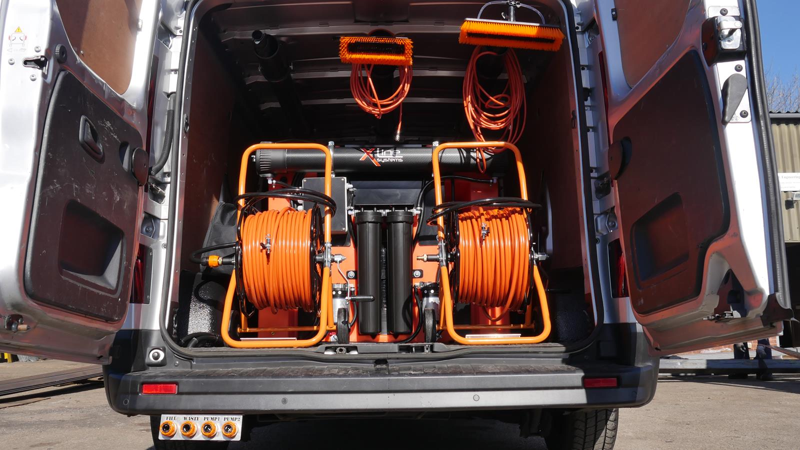 Xline Systems Renault Trafic Business 750ltr 2 Man R O