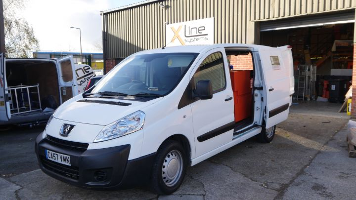 Peugeot Partner Window Cleaning Van