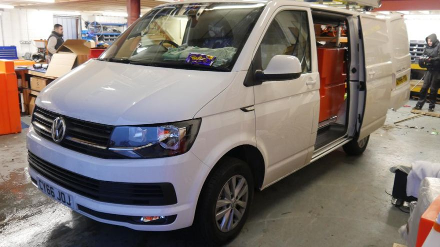 VW Transporter - 500ltr 2 Man Automated R/O X-Tank System with Raised Reels