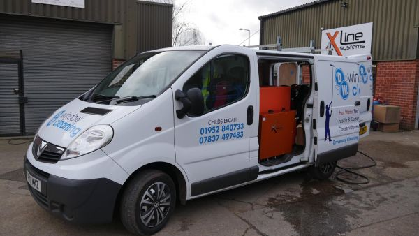 Vauxhall Vivaro - 750ltr 1 Man Hot Water System with Electric Reel