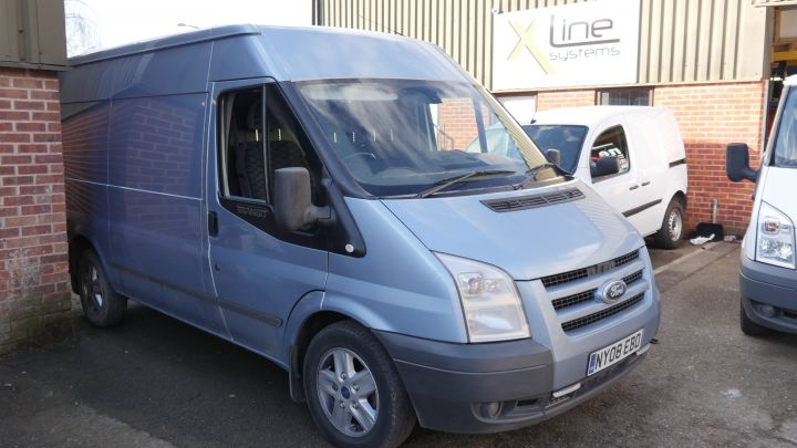 Ford Transit 2008 - 750ltr 1 Man X-Tank with Automated Fill & Flush R/O System
