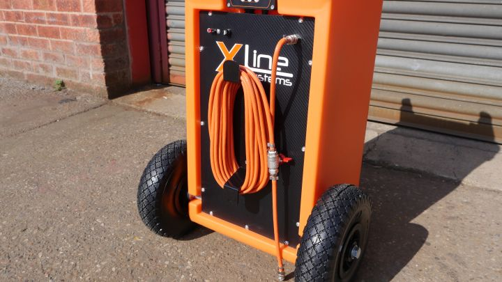 45ltr Trolley Hose Extension Wrap Bracket Demonstration