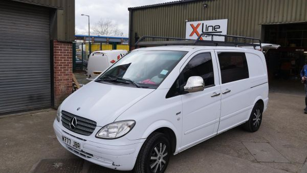 Mercedes Vito - 500ltr 2 Man R/O D/I Window Cleaning Tank System