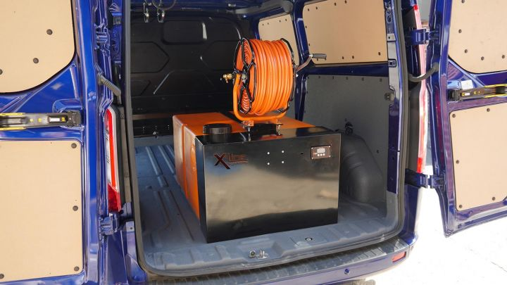 New 350ltr DIY Window Cleaning System