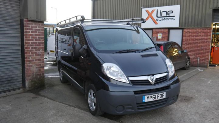 Vivaro 2012 - 500ltr 1 Man X-Tank with Automated R/O Water Filtration