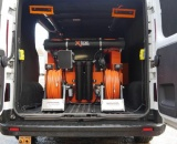 Vauxhall Vivaro - 750ltr 2 Man Hot WFP System with Electric Reels